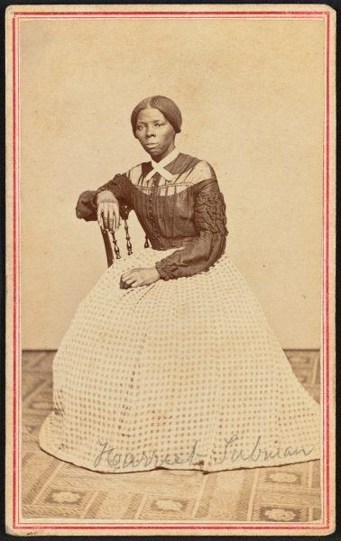 A portrait of Harriet Tubman by Benjamin Powelson, 1868 or 1869. Source: Library of Congress