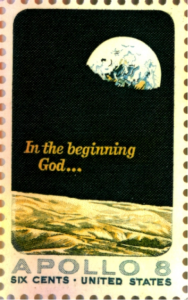 Earthrise Stamp