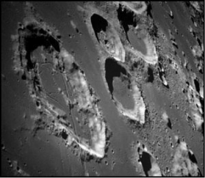 Moon surface picture