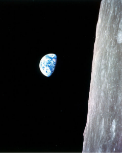 The original angle of the earthrise photo. (Via Wikimedia Commons)