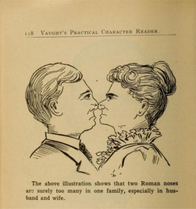 An image from Vaught's Practical Character Reader, published in 1902. Credit: Public Domain Review.