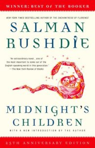 """Cover for """"Midnight's Children"""" by Salman Rushdie"""