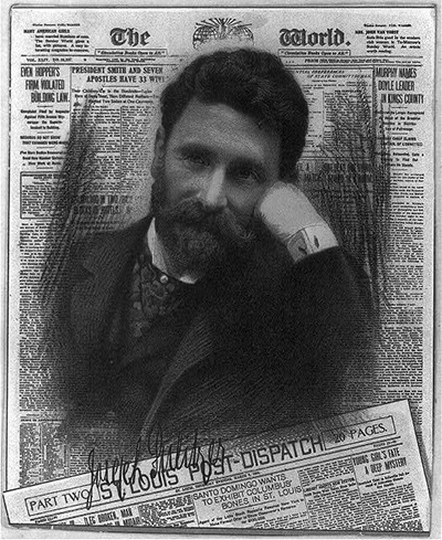 A picture of Joseph Pulitzer, 1847-1911. Source: Library of Congress