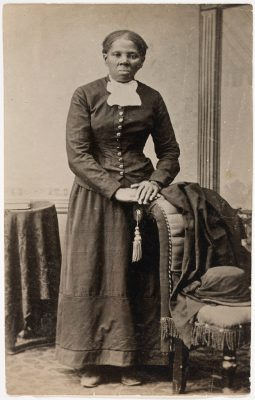 A portrait of Harriet Tubman by Harvey Lindsley. Taken between 1871 and 1876?, printed between 1895 and 1910. Source: Library of Congress