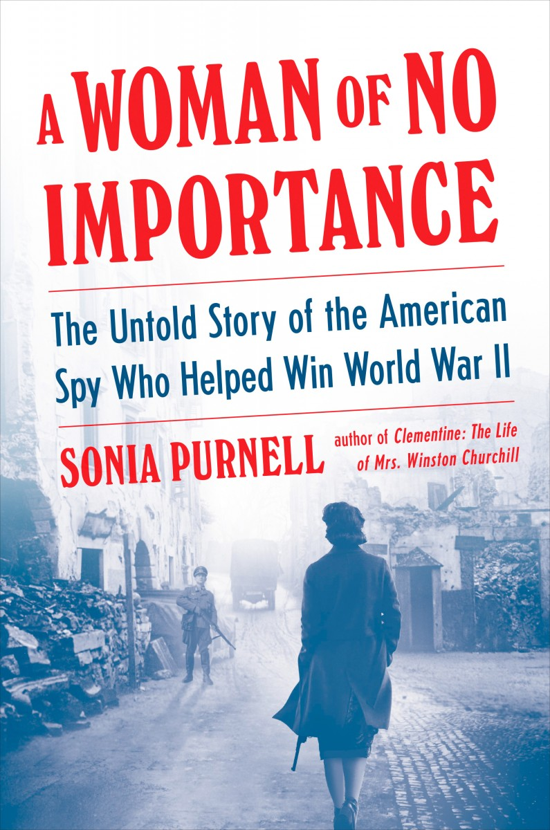 """Book cover of """"A Woman of No Importance."""""""