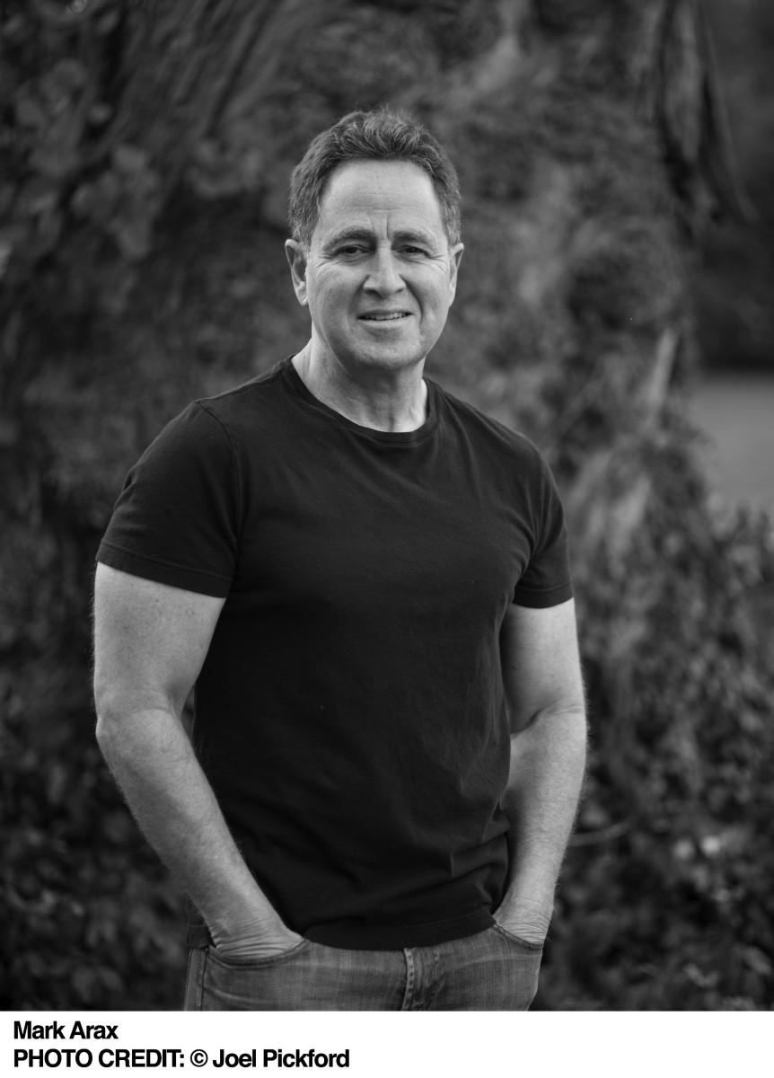 Headshot of author Mark Arax.